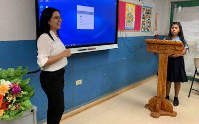 El Centro de Educación Básica General Quebrada Guabo es parte de la Red Testing Program