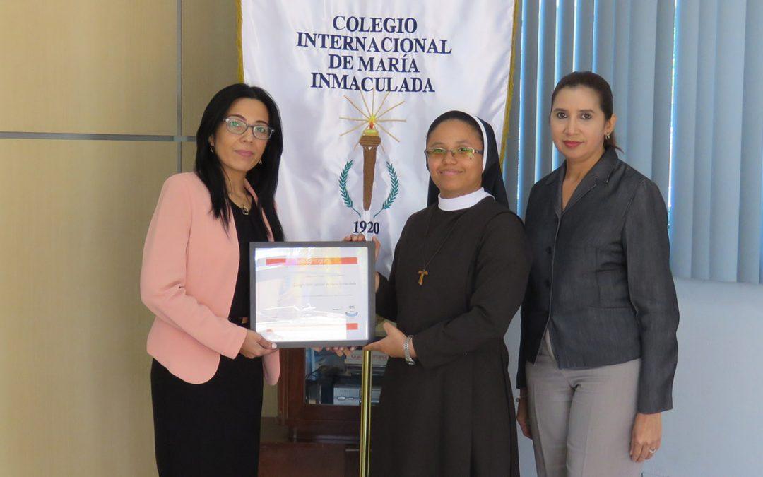 Colegio Internacional de María Inmaculada es parte de la Red Internacional de Centros de Certificación